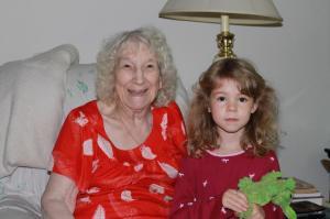 Julia and Great Great Grandma!